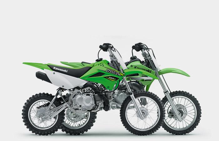 Kawasaki KX 50, 65 & KLX 110 (age 7 to 13)